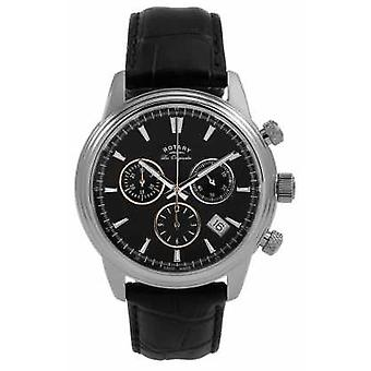 Rotary Mens Monaco Black Chronograph GS90125/04 Watch