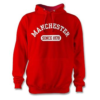 Manchester United 1878 Established Football Kids Hoodie