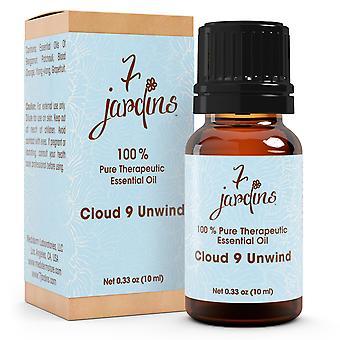 Æterisk olie Blend - Cloud 9 angst Relief - 100% ren - aromaterapi