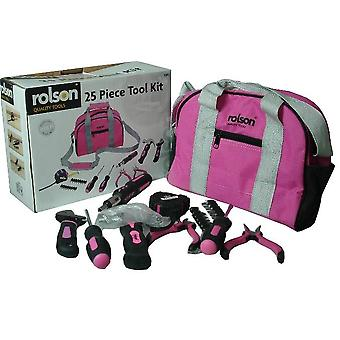 25 Piece Lady Tool Kit Colour Box