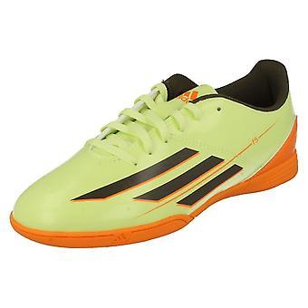 Boys Adidas Football Trainers F5 IN J