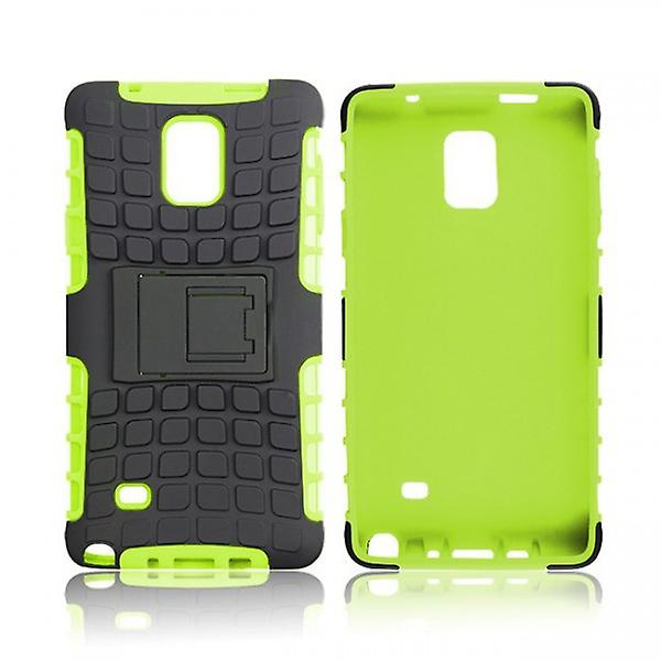 Hybrid case 2 piece SWL robot green for Samsung Galaxy touch 4 SM-N910 SM-N910F