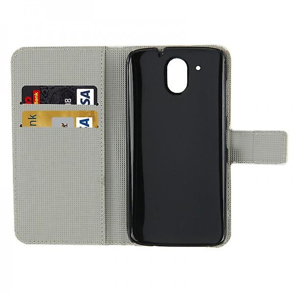 Pocket wallet premium model 43 for HTC desire 526 G