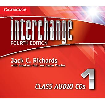 Interchange Level 1 Class Audio CDs (3) (Interchange Fourth Edition) (Audio CD) by Richards Jack C. Hull Jonathan Proctor Susan
