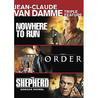 Jean-Claude Van Damme Triple Feature [DVD] USA import