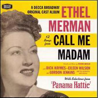 Ethel Merman - 12 Songs From Call Me Madam [CD] USA import