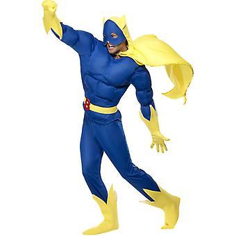 バナナ男衣装バナナ男バナナ コスチューム スーパー ヒーロー
