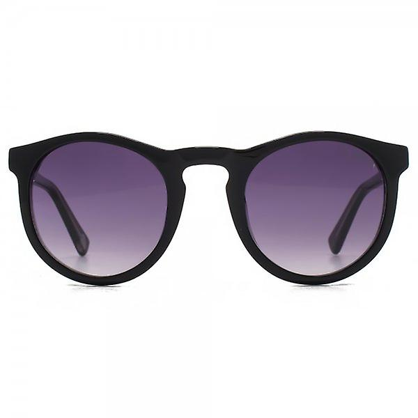 Hook LDN Parklife Sunglasses In Black On Clear