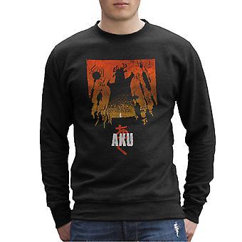 Akaiju Samurai Jack Aku Men's Sweatshirt