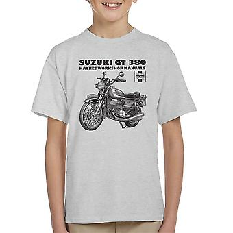 Haynes Owners Workshop Manual Suzuki GT 380 Triple Kid's T-Shirt