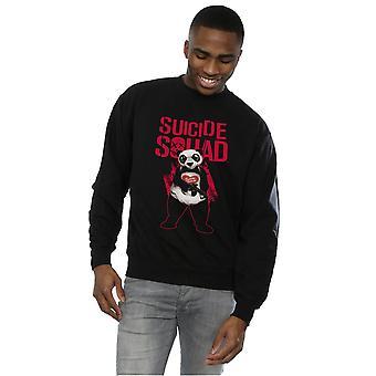 Joker Panda sudadera de suicidio Escuadrón hombres
