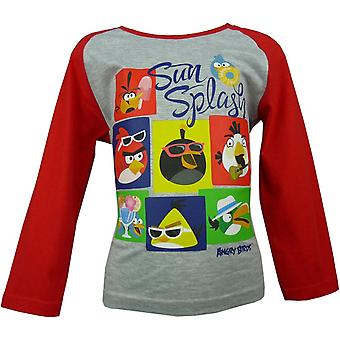 Angry Birds Boys Long Sleeve Top