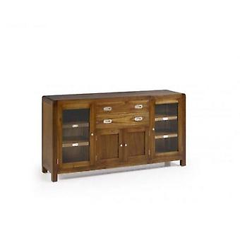 Moycor Buffet Flash 2 Drawers 2 Door 2 Door Glass Wood 150x40x80