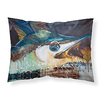 Carolines Treasures  JMK1111PILLOWCASE Blue Marlin Fabric Standard Pillowcase