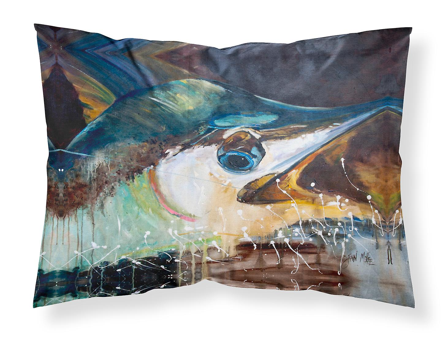 Standard Jmk1111pillowcase Marlin Tissu D'oreiller Carolines Taie Trésors Bleu ZuPiOkX