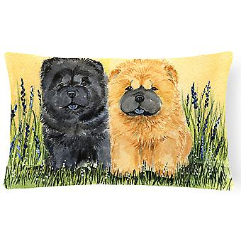 Carolines Treasures  SS7006PW1216 Chow Chow Decorative   Canvas Fabric Pillow