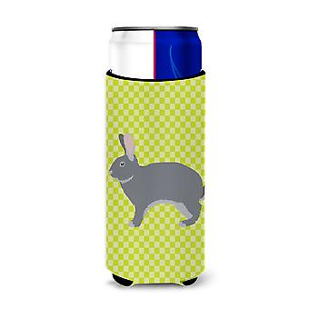 Giant Chinchilla Rabbit Green Michelob Ultra Hugger for slim cans
