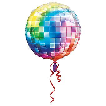 Amscan Supershape 70s partito Palloncino foil a forma di Discoball