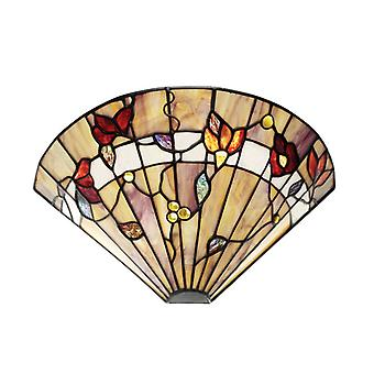 Bernwood Tiffany Style Wall Light - Interiors 1900 63952