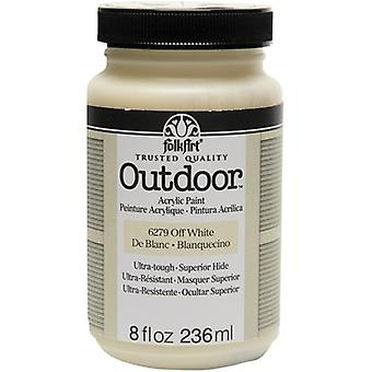 FolkArt Outdoor Paint 8oz-Off White FAO8-6279