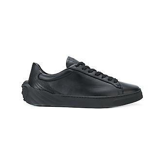 Versace men's DSU6701DVG3GD41 black leather of sneakers