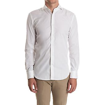 Aspesi men's CE52C118SX07072 white cotton shirt