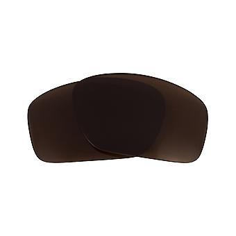 Replacement Lenses Compatible with OAKLEY Scalpel Polarized Brown