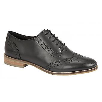 Cipriata Womens/Ladies Brogue Oxford Lace Up Leather Shoes