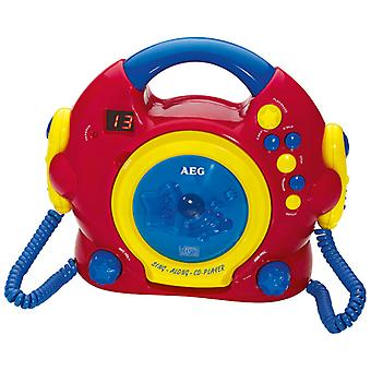 AEG CD with 2 microphones CDK4229 Kids Line