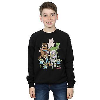 Disney jongens Toy Story groep schot Sweatshirt