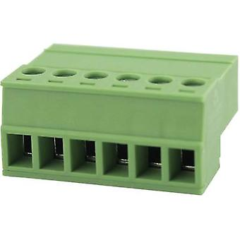 Pin enclosure - cable Total number of pins 4 Degson 15EDGKR-3.81-04P-14-00AH Contact spacing: 3.81 mm 1 pc(s)