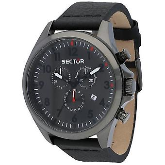 Sector watches mens watch 180 contemporary chronograph R3271690026