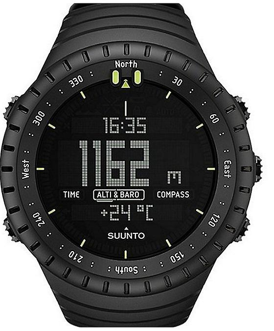 Suunto core all black outdoor instrument SS014279010