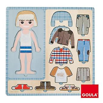 Goula Nestable to dress Child