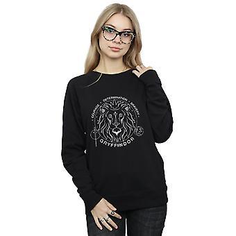 Harry Potter kvinders Gryffindor Seal Sweatshirt