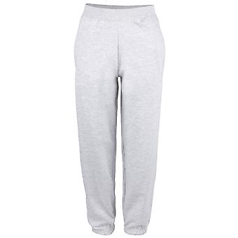 Awdis Mens College Cuffed Sweatpant Jogging Bottoms Black,Grey S,M,L,XL