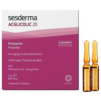 Sesderma Acglicolic 20 Blisters 5 Units (Cosmetics , Facial , Concentrates)