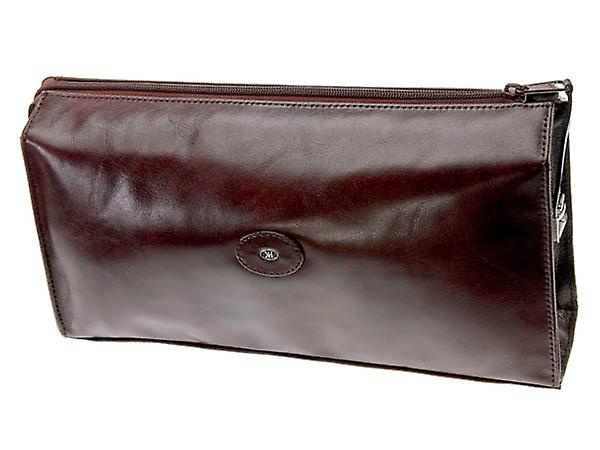 Hans Kniebes Berlin Toiletry Bag Buffalo Leather