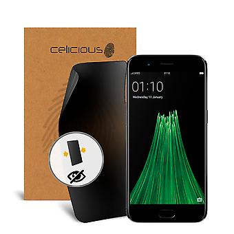 Celicious Privacy 2-Way Visual Black Out Screen Protector for OPPO R11