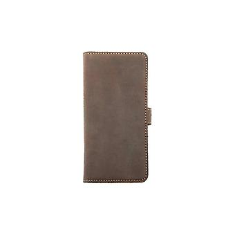 Essentials Leather Booklet Case Smg Galaxy S7 + Brown