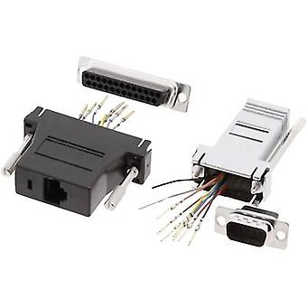 D-SUB adapter D-SUB socket 9-pin - RJ45 socket MH Connectors DA9-SMJ8-M-K-RC 1 pc(s)
