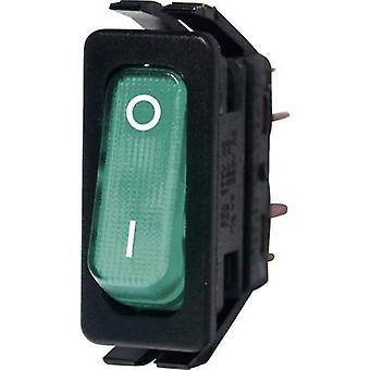Arcolectric Toggle switch C6003ALNAD 250 V AC 16 A 1 X On/Off Klinke 1 PC
