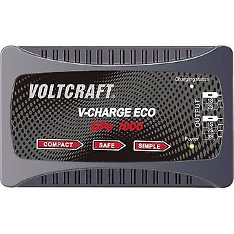 Scale model battery charger 230 V 1 A VOLTCRAFT Eco LiPo 1000 LiPolymer