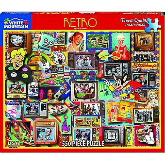Retro 550 Piece Jigsaw Puzzle 760Mm X 610Mm
