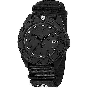 KHS Herrenuhr of enforcer black steel XTAC KHS. ENFBSXT. NXT1