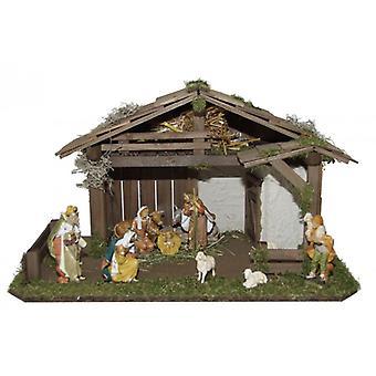 Wieg SEVERODVINSK houten Manger Nativity kerst Nativity testing