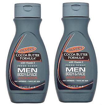 Palmer's Cocoa Butter Formula Men Body & Face Lotion 250ml (2-Pack)