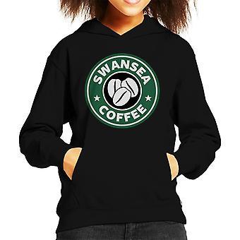 Swansea Coffee Kid's Hooded Sweatshirt