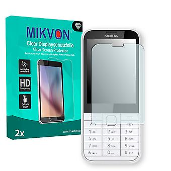Nokia 225 Screen Protector - Mikvon Clear (Retail Package with accessories)
