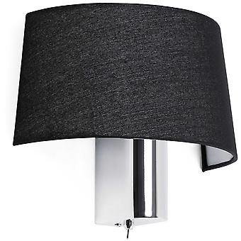 Wellindal Hotel Wall Lamp 1 X E27 60W